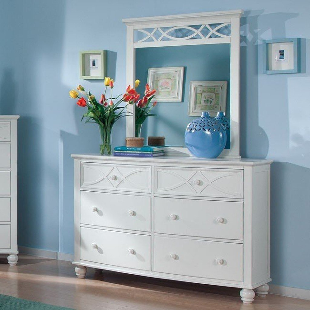 Best Sanibel Panel Bedroom Set White Homelegance Furniture Cart With Pictures