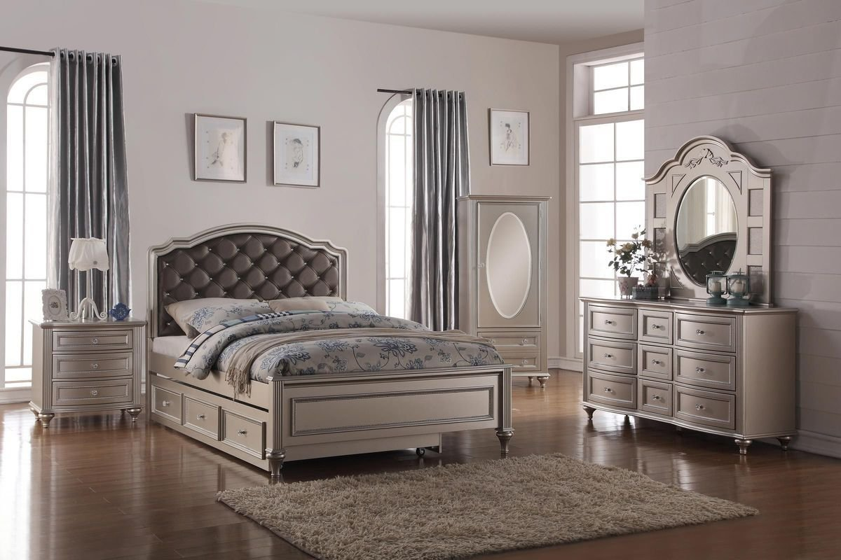 Best Chantilly Full Bedroom Set At Gardner White With Pictures