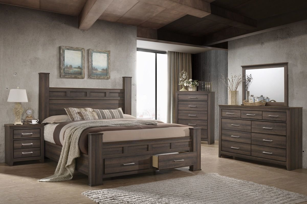 Best Danville 5 Piece Queen Bedroom Set With 32 Led Tv At With Pictures