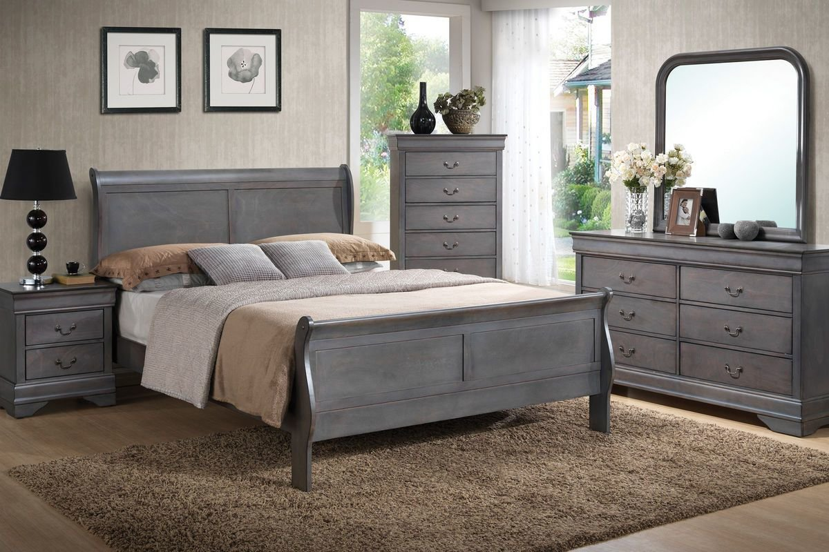 Best Sulton 5 Piece Queen Bedroom Set At Gardner White With Pictures