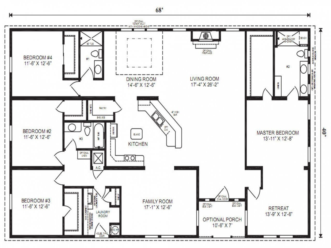 Best 5 Bedroom Triple Wide Mobile Homes Awesome House Designs With Pictures