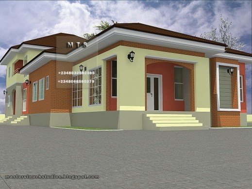 Best Stunning 3 Bedroom Duplex House Plans In Nigeria Arts 4 With Pictures