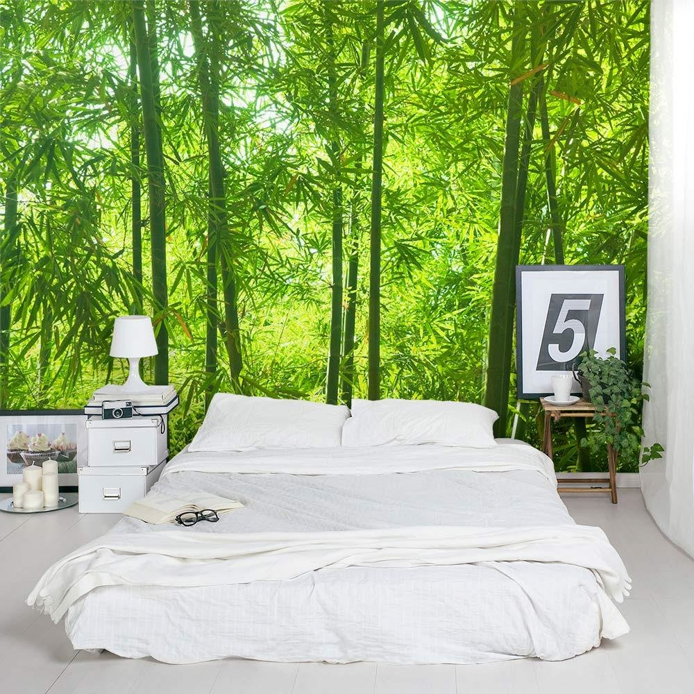 Best Bamboo Wall Mural Forest Wallpaper Mural Wallums With Pictures