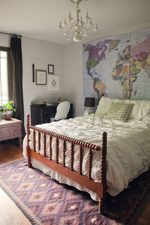 Best Big World Map In The Guest Room Wit Whistle With Pictures