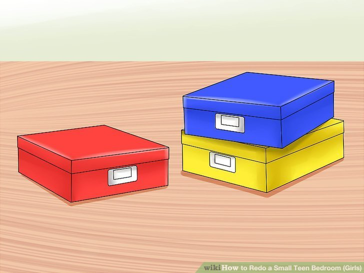 Best 3 Ways To Redo A Small T**N Bedroom Girls Wikihow With Pictures