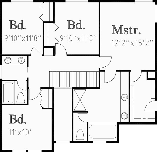 Best Traditional House Plans Two Story House Plans 4 Bedroom With Pictures