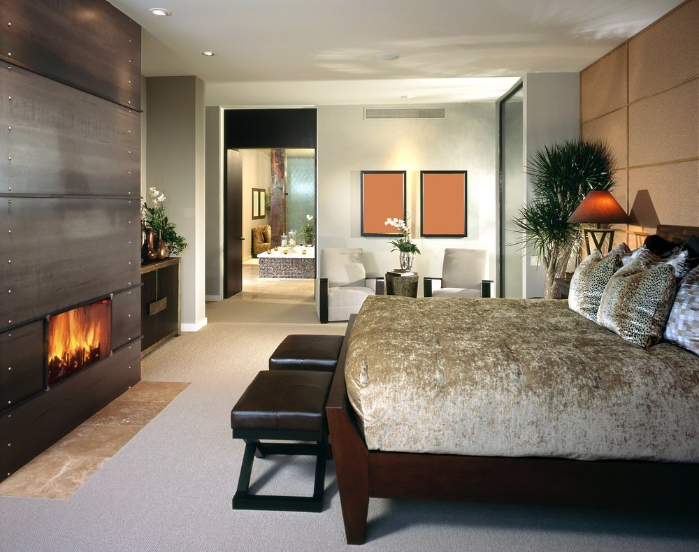 Best 101 Master Bedrooms With Fireplaces Photos With Pictures