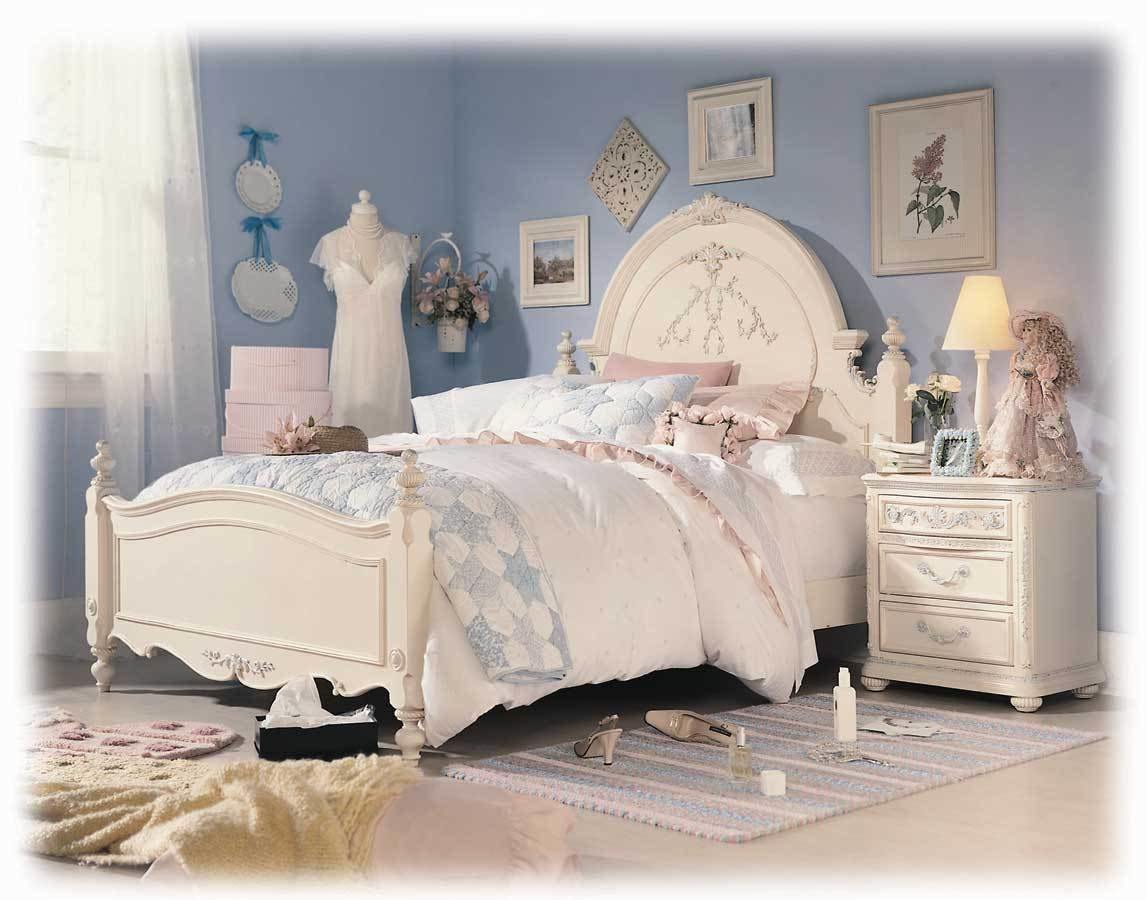 Best Lea Jessica Mcclintock Romance Panel Bed Furniture 203 With Pictures