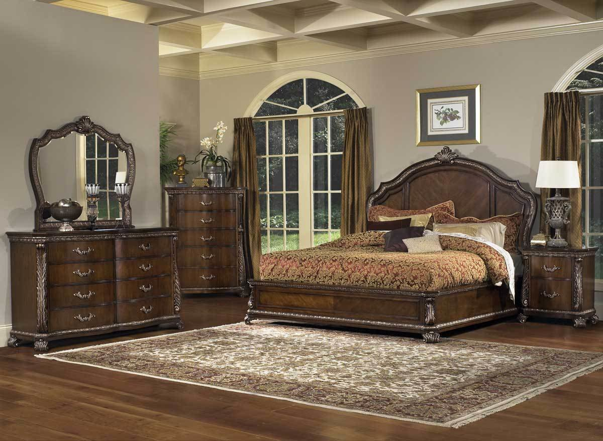 Best Pulaski Murano Panel Bedroom Collection Pf B656150 At With Pictures