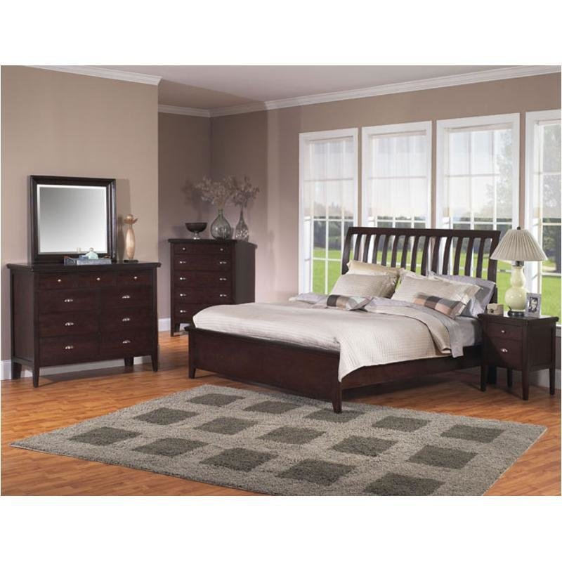 Best 2445 252 Samuel Lawrence Furniture Nova Bed With Pictures