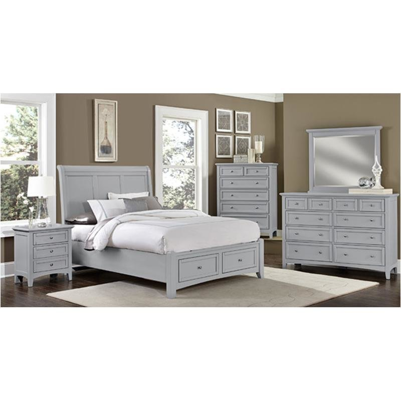Best Bb26 002 Vaughan Bassett Furniture Triple Dresser Grey With Pictures