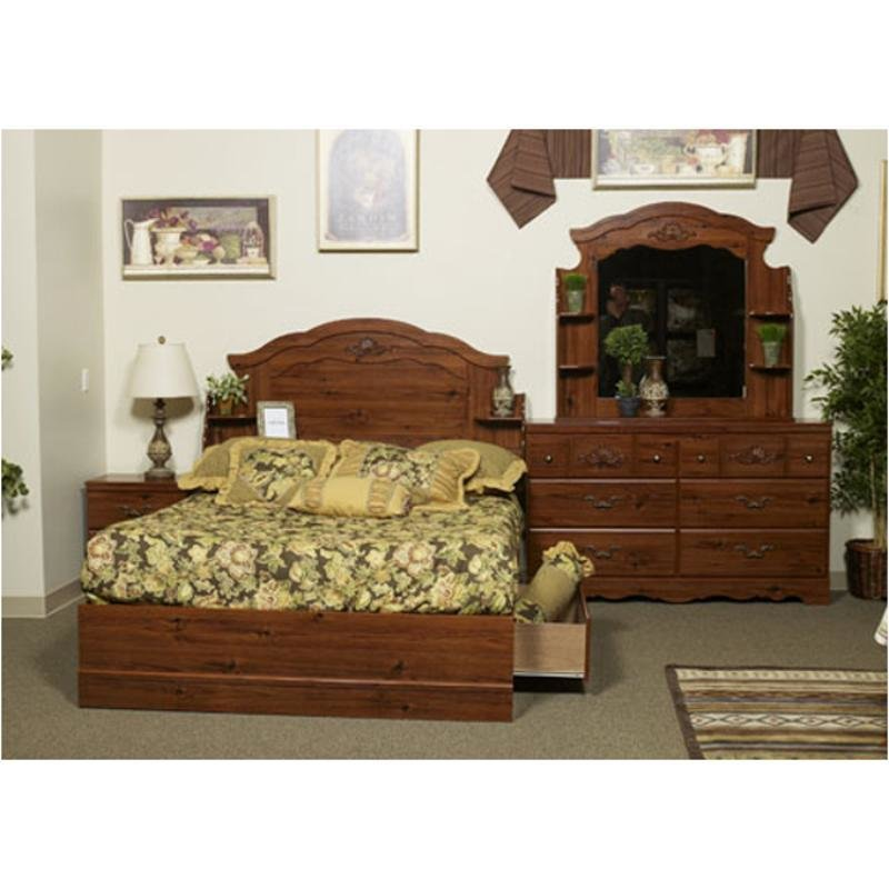 Best B167 54 Ashley Furniture Auburn Acres Queen Panel Footboard With Pictures