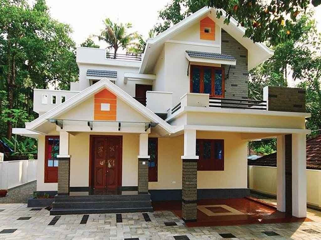 Best 1650 Sq Ft Double Floor House Design 4 Bedrooms Cost 23 With Pictures