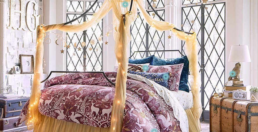 Best Pbteen Launches The Harry Potter Bedroom Collection Of Our Dreams Hypable With Pictures