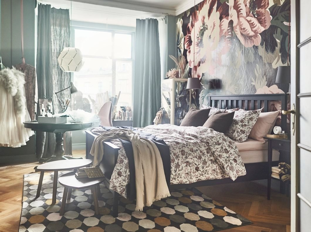 Best Bedroom Furniture Beds Mattresses Inspiration Ikea With Pictures