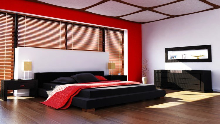 Best 41 Fantastic Red And Black Bedrooms Pictures With Pictures