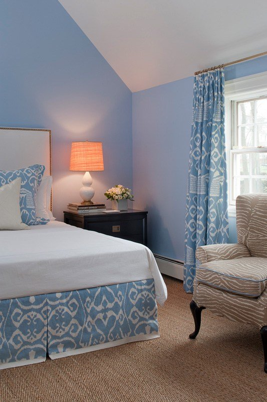Best Ethnic Print In Light Blue Interiors By Color With Pictures