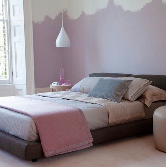Best Two Color Wall Painting Ideas For Beautiful Bedroom Decorating With Pictures