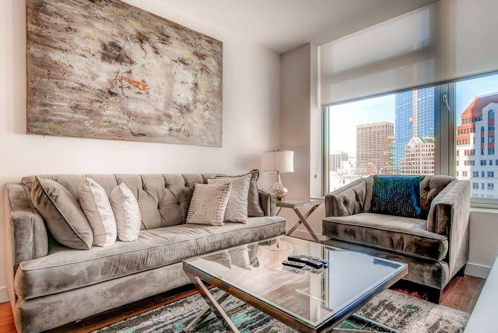 Best Modernly Furnished 1 Bedroom Boston Apartment Apartments With Pictures