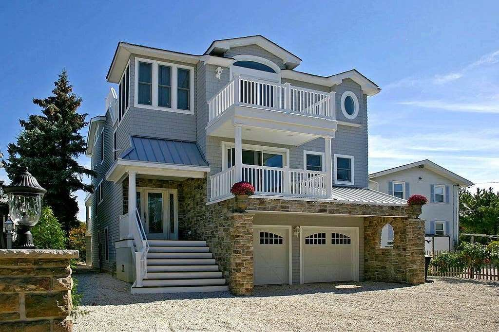Best Luxury Oceanfront Beach House Lbi Houses For Rent In With Pictures