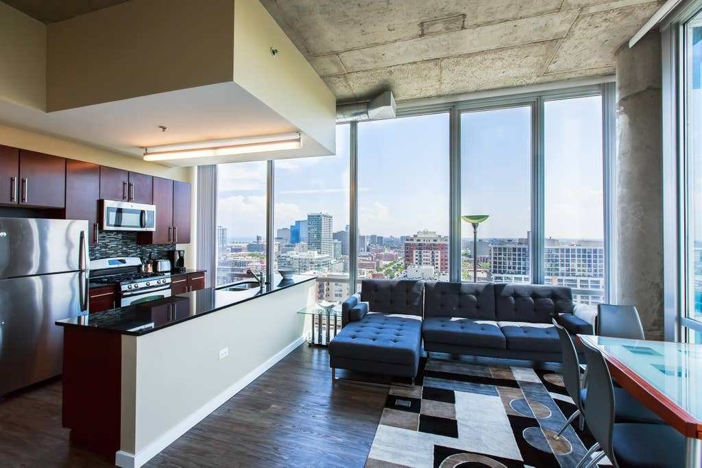 Best 2 Bedroom P*Nth**S* South Loop Downtown Apartments With Pictures Original 1024 x 768
