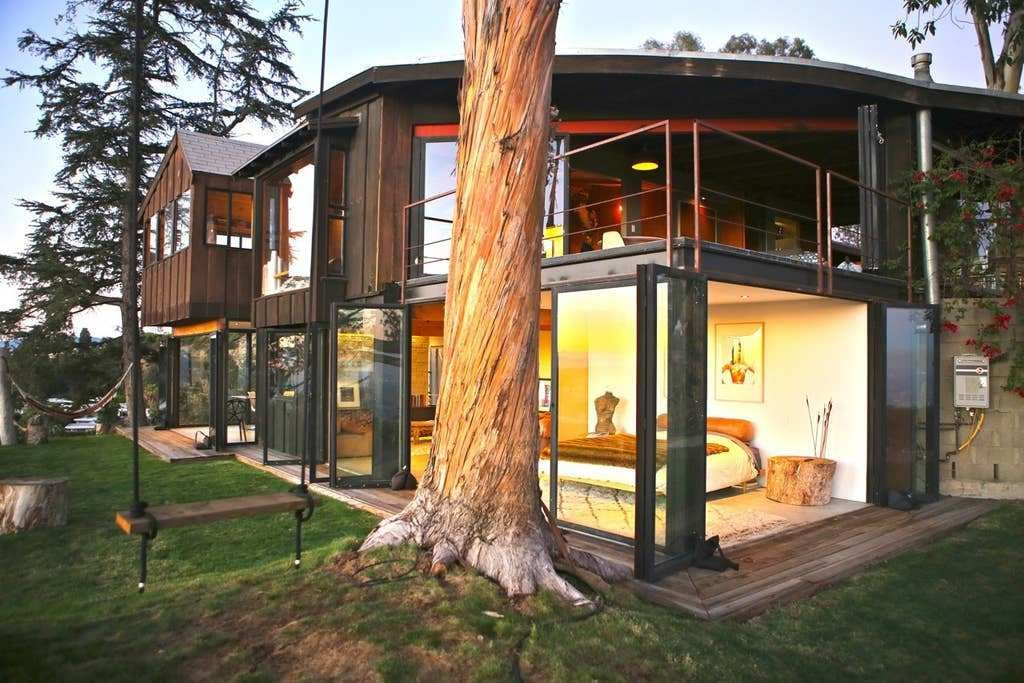 Best Tree House With 360 Views Of L A Houses For Rent In Los With Pictures