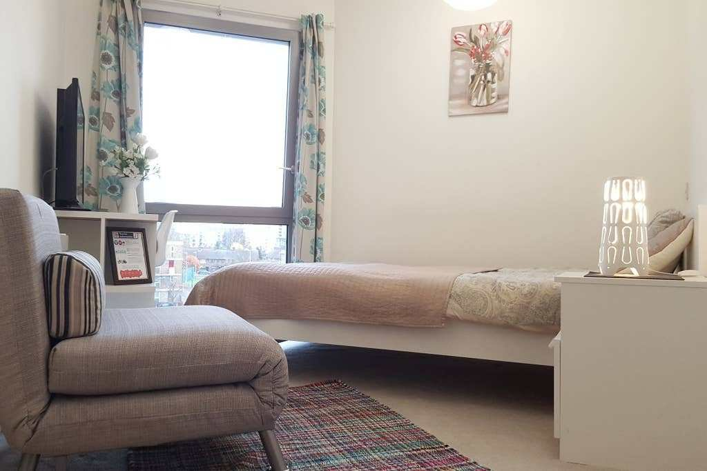 Best ☆Delightful Modern Bedroom 2Min To Tube Excel O2 Flats With Pictures