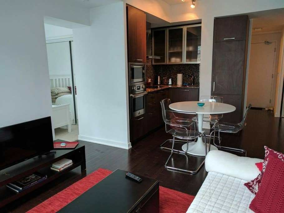 Best Downtown Toronto Luxury Condo One Bedroom Lounge Apartments For Rent In Toronto Ontario Canada With Pictures Original 1024 x 768