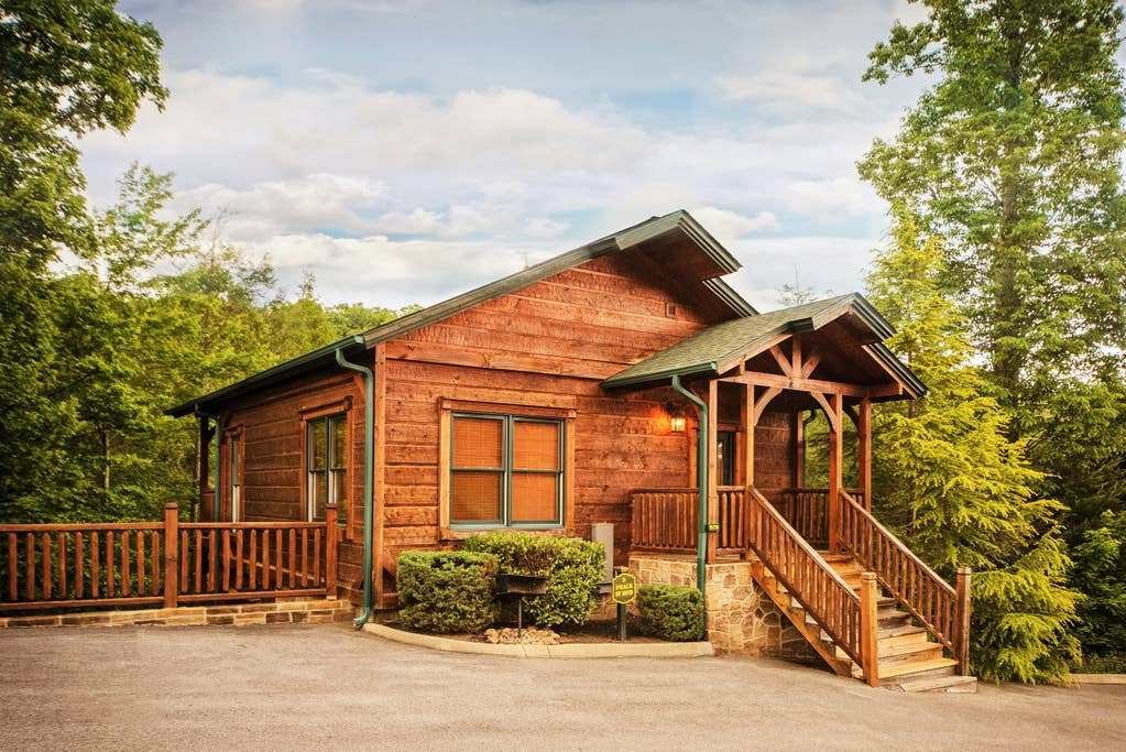 Best Luxury 1 Bedroom 2 Story Cabin In Gatlinburg Falls With Pictures