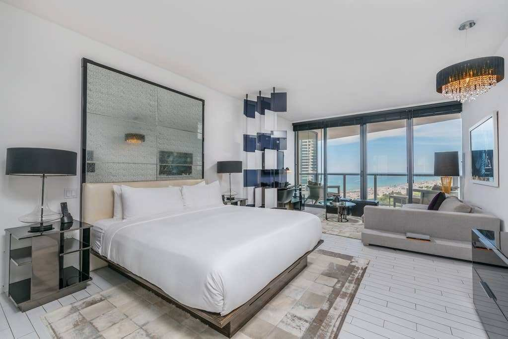 Best Ocean View Studio At W Hotel South Beach 7051 Apartments For Rent In Miami Beach Florida With Pictures