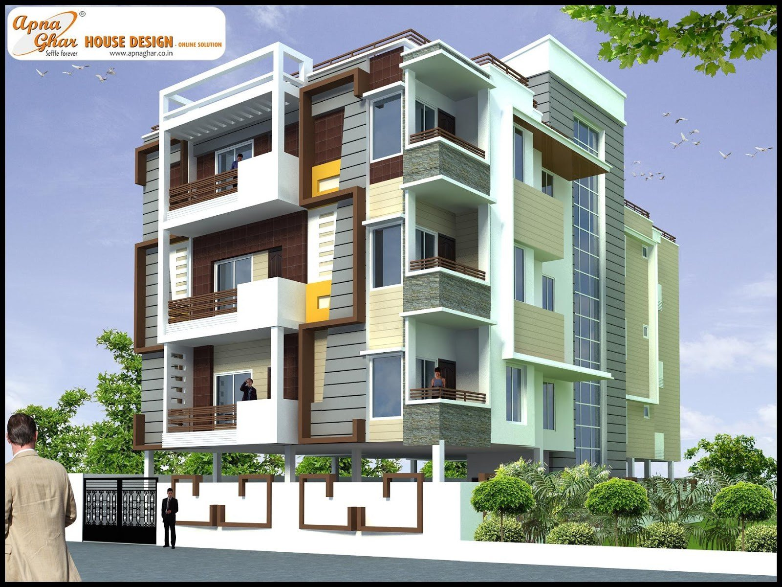 Best July 2013 Apnaghar House Design With Pictures