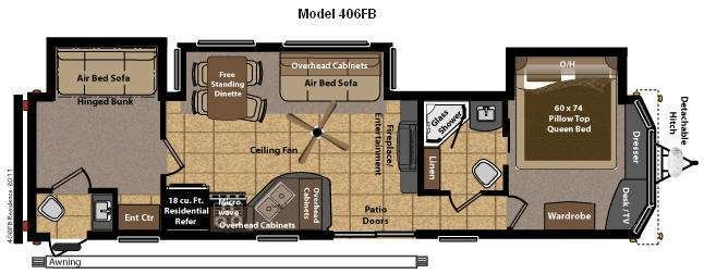 Best Used 2013 Keystone Rv Residence 406Fb Destination Trailer With Pictures
