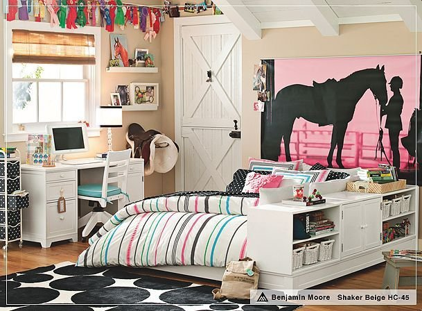 Best 26 Equestrian Themed Bedrooms For Horse Crazy Girls Of All With Pictures