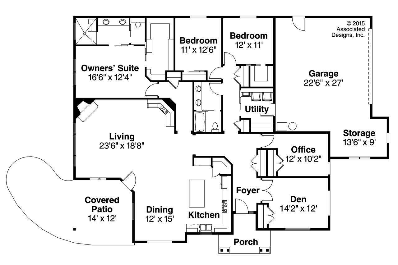 Best Ranch House Plans Baileyville 30 976 Associated Designs With Pictures