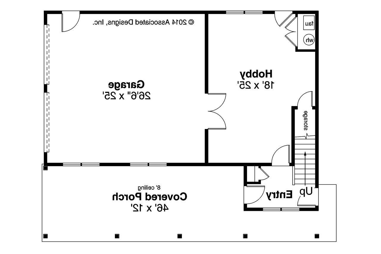 Best Craftsman House Plans Garage W Apartment 20 119 With Pictures