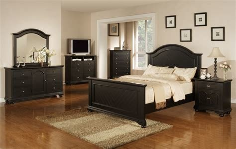 Best Brook Black 5 Pc Full Size Bedroom Suite With Pictures