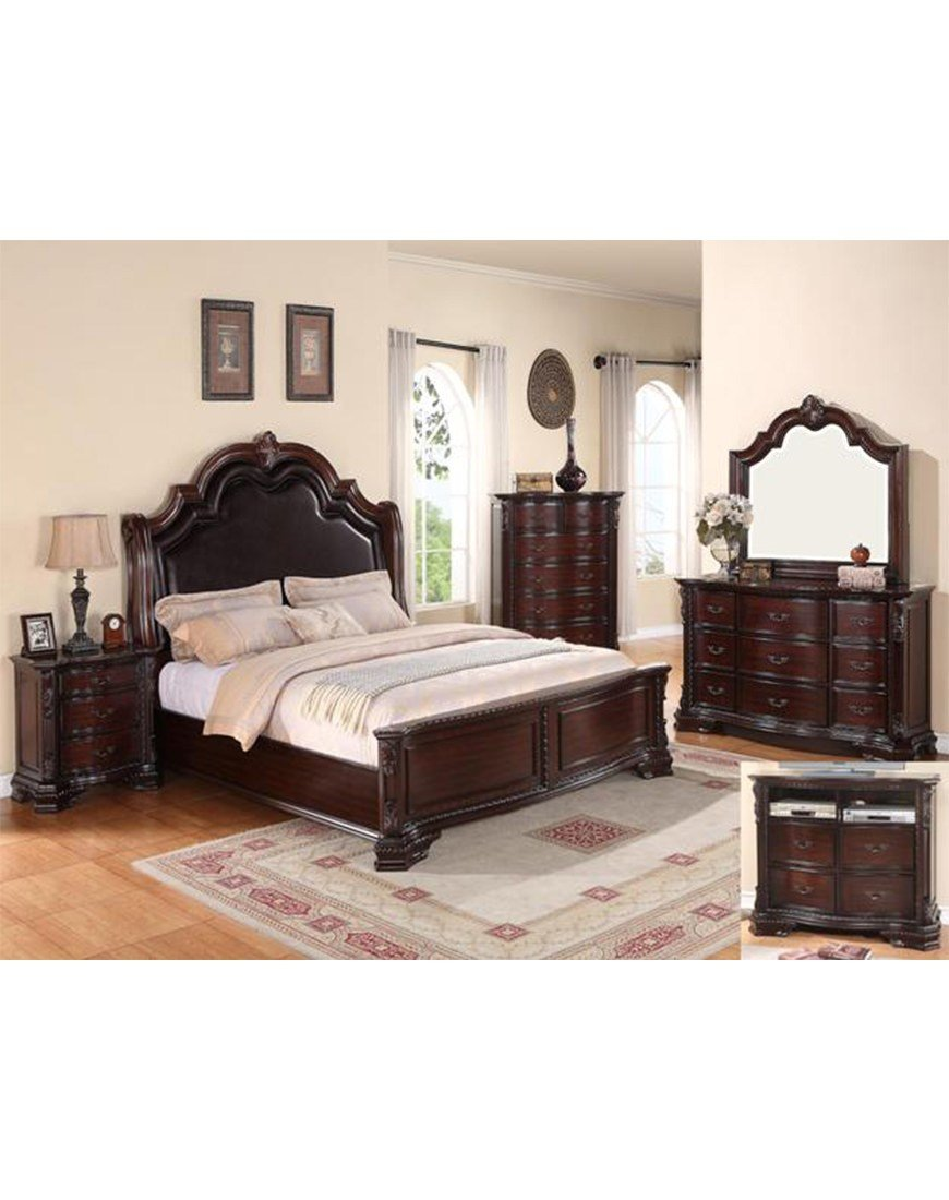 Best Crown Mark Sheffield Bedroom Collection Austin S With Pictures