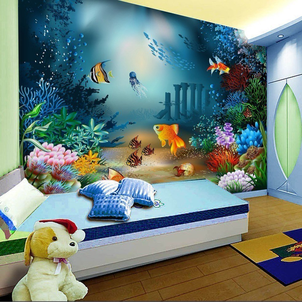 Best Wallpaper Cartoon Non Woven Children Room Self Adhesive With Pictures