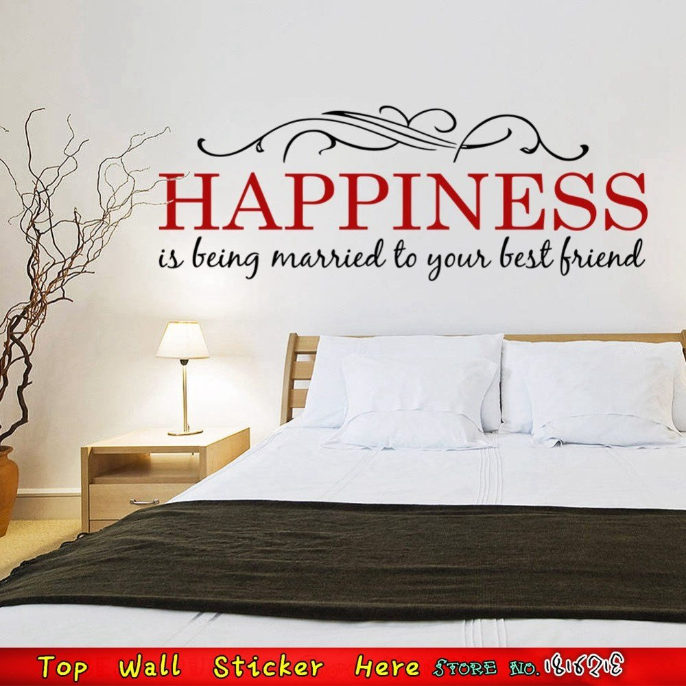 Best Happiness Married Love Family Quotes Wall Stickers For With Pictures