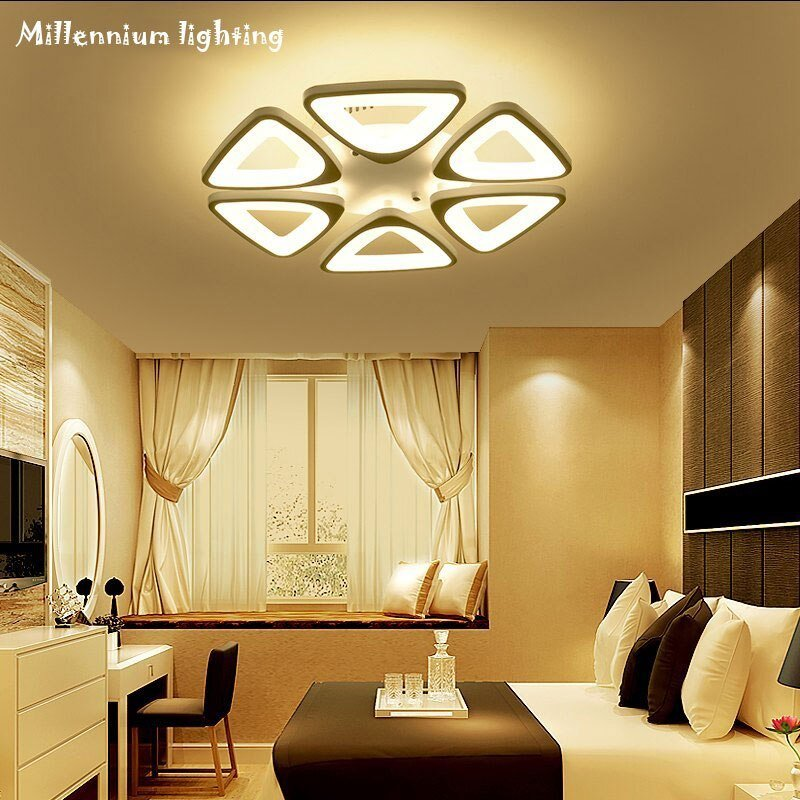 Best Acrylic Led Ceiling Lighting Modern Minimalist Living Room With Pictures