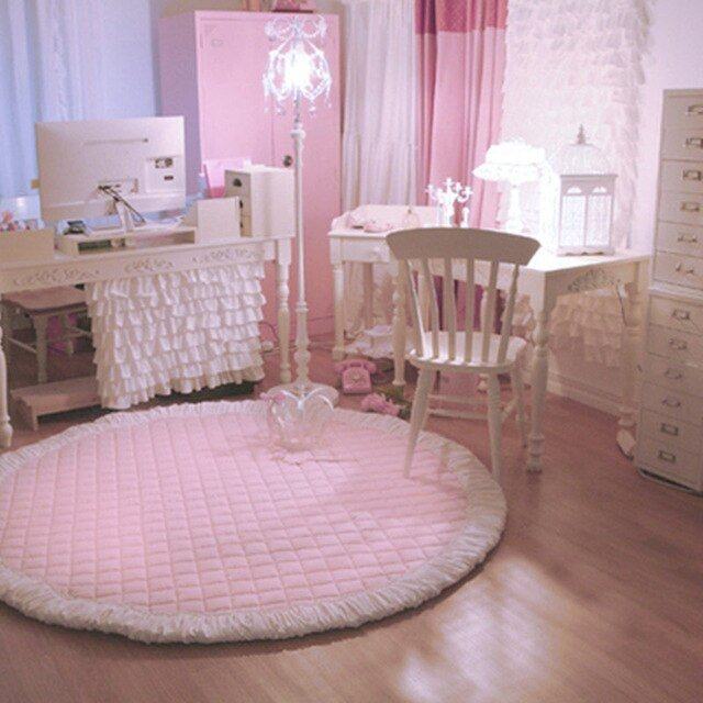 Best New Princess Carpet Bedroom Pink Rug Sweet Living Room With Pictures