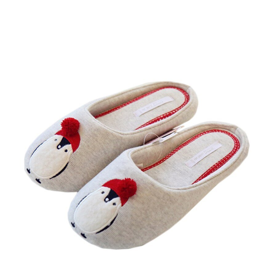 Best Cotton Cute Slippers Women Penguin Animal Home Slippers Indoor Shoes Bedroom House *D*Lt Guest With Pictures
