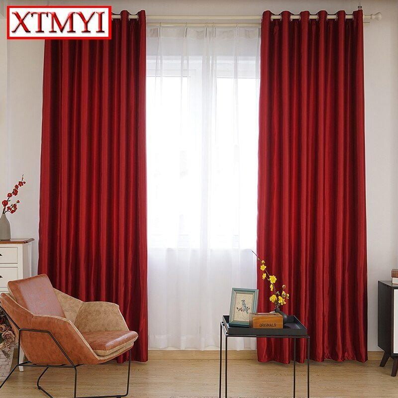 Best Aliexpress Com Buy Blackout Curtains For The Bedroom With Pictures