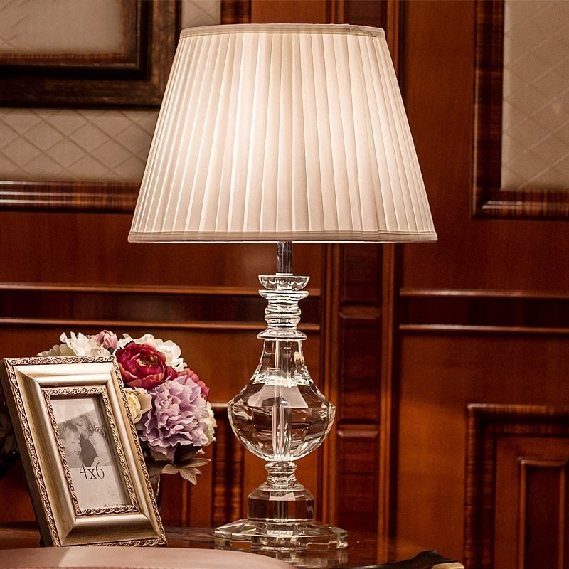 Best Dx Luxurious Table Lamp Bedside Lamps For Living Room Decoration Night Light Bedroom Lights With Pictures