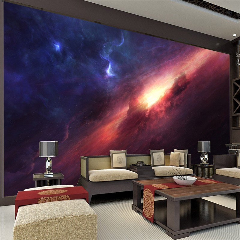 Best 3D Charming Galaxy Wallpaper Room Decor Fantasy Photo With Pictures