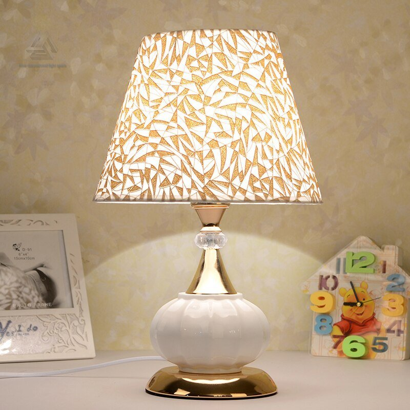 Best Modern Bedroom Table Lamps Nordic Style Ceramic Fashion With Pictures