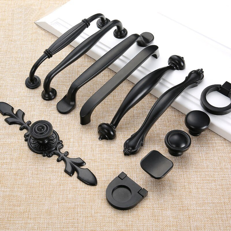 Best Black Furniture Handles And Knobs Cabinet Drawer Pull With Pictures
