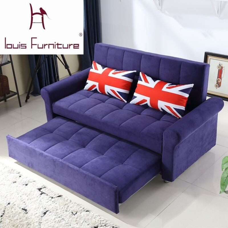 Best Modern Bedroom Furniture Small Apartment Sofa Bed Multifunctional Double Sofa Bed New Sofa Bed With Pictures