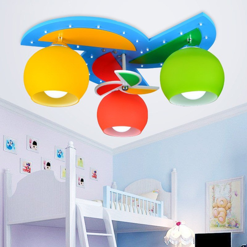 Best Ceiling Lights With 3 Heads For Baby Boy Girl Kids With Pictures