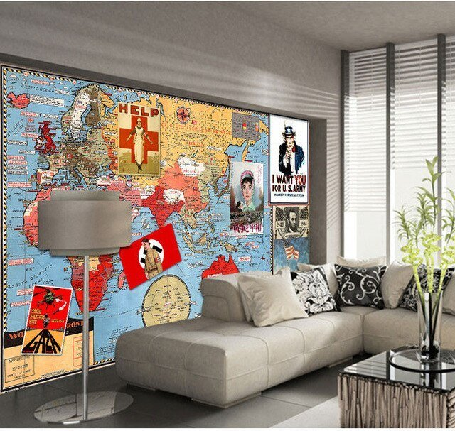 Best War And Peace Vintage Poster Paper Collage Backdrop Living With Pictures
